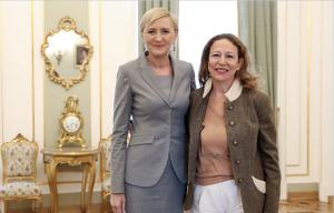 Mrs Agata Kornhauser-Duda & Corinne Evens
