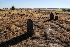 Ancien cimetière juif de Šeduva en Lituanie