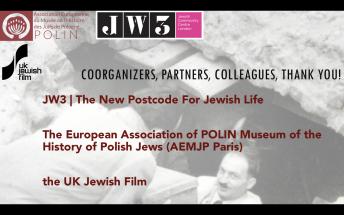 Our wonderful collaborators, JW3 & UK Jewish Film