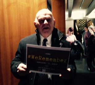 Sir Ben Helfgott #WeRemember