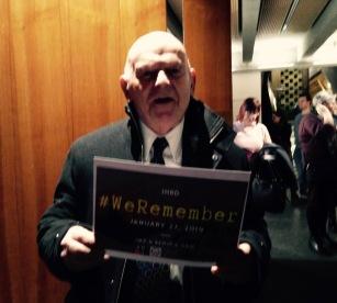 Sir Ben Helfgott #WeRemember