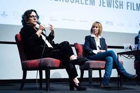 Roberta Grossman & Nancy Spielberg Jerusalem Jewish Film Festival 2018