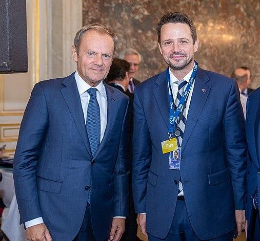 Donald Tusk & Rafal Trzaskowski